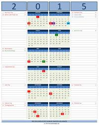 calendars with notes 2016 calendars excel templates