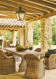 terrace furniture ideas. refined provence styled terrace decor ideas furniture