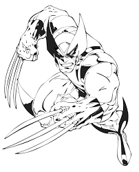 Small Picture Free Printable X Men Coloring Pages For Kids