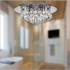 bathroom lights. Searchlight Hanna Crystal Bathroom Ceiling Fitting 4404-4CC-LED Lights