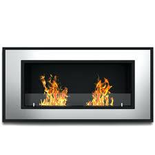 wall mounted gel fuel fireplace corner sei black arch top canada
