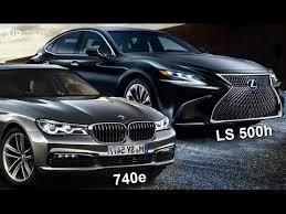 2018 lexus hybrid sedan. simple sedan 2018 lexus ls 500h vs bmw 740e  luxury hybrid sedan compare intended lexus hybrid sedan