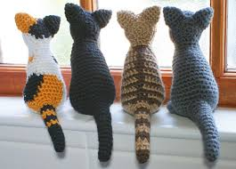 Free Crochet Cat Patterns Simple Blog PlanetJune By June Gilbank AmiCats Crochet Patterns