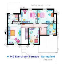 simpsons house floor plan fancy of simpson family first