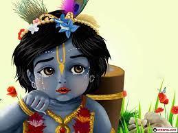 Wallpaper Hd Cartoon Krishna
