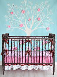 funky baby furniture. Funky Rose Bumper Less Crib Bedding Baby Girl Caden Lane Londyn 3 Piece Set For Girls Furniture