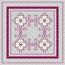 Free Biscornu Charts Biscornu Cross Stitch Pattern