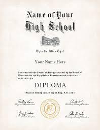high school diploma name us high school diploma style 12 buy diploma online