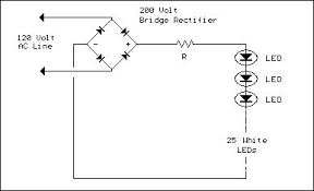 index 16 led and light circuit circuit diagram seekic com line powered white leds