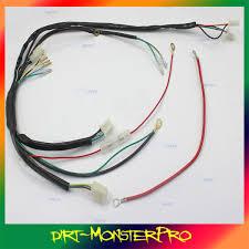 pit bike wiring loom electric start pit image pit dirt bike wiring loom harness for electric start 50cc 90cc on pit bike wiring loom