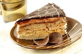 cream chocolate glaze image