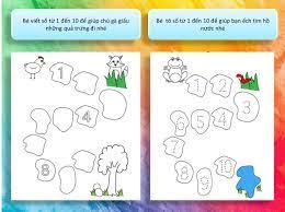 Một số bài tập phát triển tư duy toán học cho bé từ 4 ...