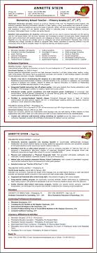 Sample Resume For Primary School Teacher. Sample Elementary School ...