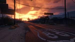 gta 5 sunset