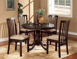 Round Kitchen Tables For 4 Vintage Kitchen Tables Round Wooden Kitchen Tables And Chairs5pcs