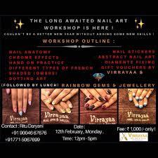 catalogue virrayaa nail spa salon photos thane west mumbai beauty parlours