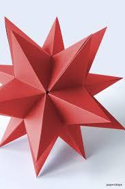 Riesen 3d Stern Falten A La Bascetta Ohne Zusammenstecken