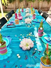 little mermaid table