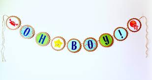 Baby Shower Banner Doleenoted Under The Sea Baby Shower Banner