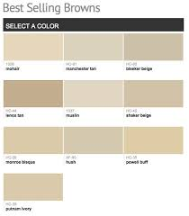 Best selling & popular shades of brown & taupe paint colors from Benjamin  ...