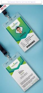 Id Card Templates Free 024 Id Card Design Template Free Download Photoshop Ideas