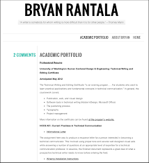 the dos and don ts of web portfolios bryan rantala s academic portfolio