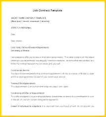 Temporary Employment Contract Template Temporary Employment Contract Template Nz Work