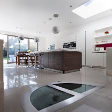 Wine Cellar Kitchen Floor Wine Cellar With Half Round Glass Door Great Design Disea O