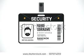 security guard badge template. Id Card Template Security Officer Awesome For Badge John