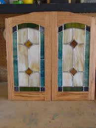 stained glass cabinet door inserts image collections doors design