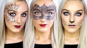 3 easy last minute halloween makeup ideas