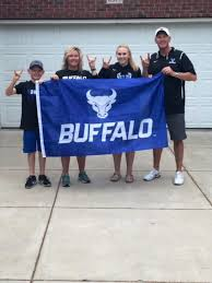 """Lance Leipold on Twitter: """"Our family has our Buffalo Bulls flag raised!  Renew or purchase new @ubfootball season tickets by June 25th and you can  have one too! Call 1-877-UB-THERE and order"""