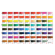 Shinhan Watercolor Hand Painted Color Chart Jacksons