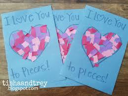 I Love You Crafts Tishaandtrey Candy Free Valentine Crafts