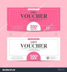 Template Beauty Gift Vouchers Template