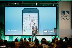 Product Specialist for Waze Mark Campos speaks on stage at... News Photo -  Getty Images