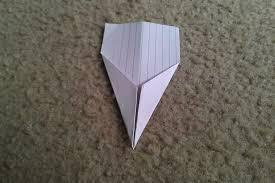 Make Index Cards Index Card Airplane The Dart 3 Steps