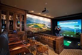 The Golfer's Retreat Man Cave Idea