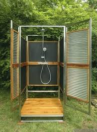 outdoor shower enclosure kit home depot kits vinyl cape cod