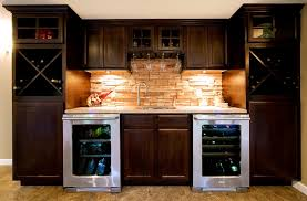 Wet Bar Ideas For Basement Modern Basement Wet Bar Tvcinc