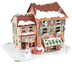 3D-пазл <b>CubicFun Рождественский домик</b> 4 (P650h), 46 дет ...