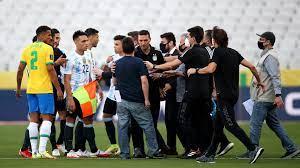ما سبب إيقاف مباراة البرازيل والأرجنتين في تصفيات كأس العالم 2022 أمريكا  الجنوبية؟