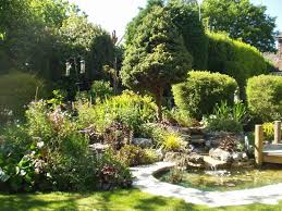 Small Picture Garden Pond Ideas Pictures Garden Design Ideas