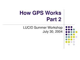 How Gps Works Ppt How Gps Works Part 2 Powerpoint Presentation Id 1296013
