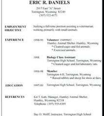 resume sample for high school student 1526 best 4 resume examples images in 2019