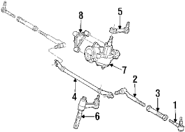 parts com® ford sckt asy stng arm ti partnumber 2l3z3a130ca 2000 ford expedition xlt v8 5 4 liter gas steering gear linkage