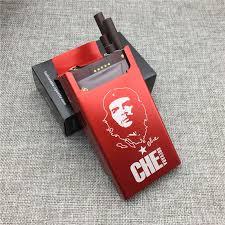 Us 4 74 5 Off Lf016 Personalized Che Guevara Souvenirs Aluminium Alloy Cigarette Case Laser Carved Will Not Fade Cigarette Boxes Portable Box In