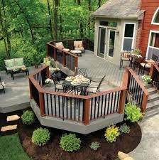 outdoor wood patio ideas. Best 25 Backyard Deck Designs Ideas On Pinterest Decks Gorgeous Wood Patio Outdoor M