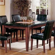 black wood table top. Granite Dining Table For High End And Sophisticated Visual \u2014 The New Way Home Decor Black Wood Top R