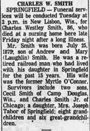 Obituary for CHARLES W. SMITH (Aged 86) - Newspapers.com
